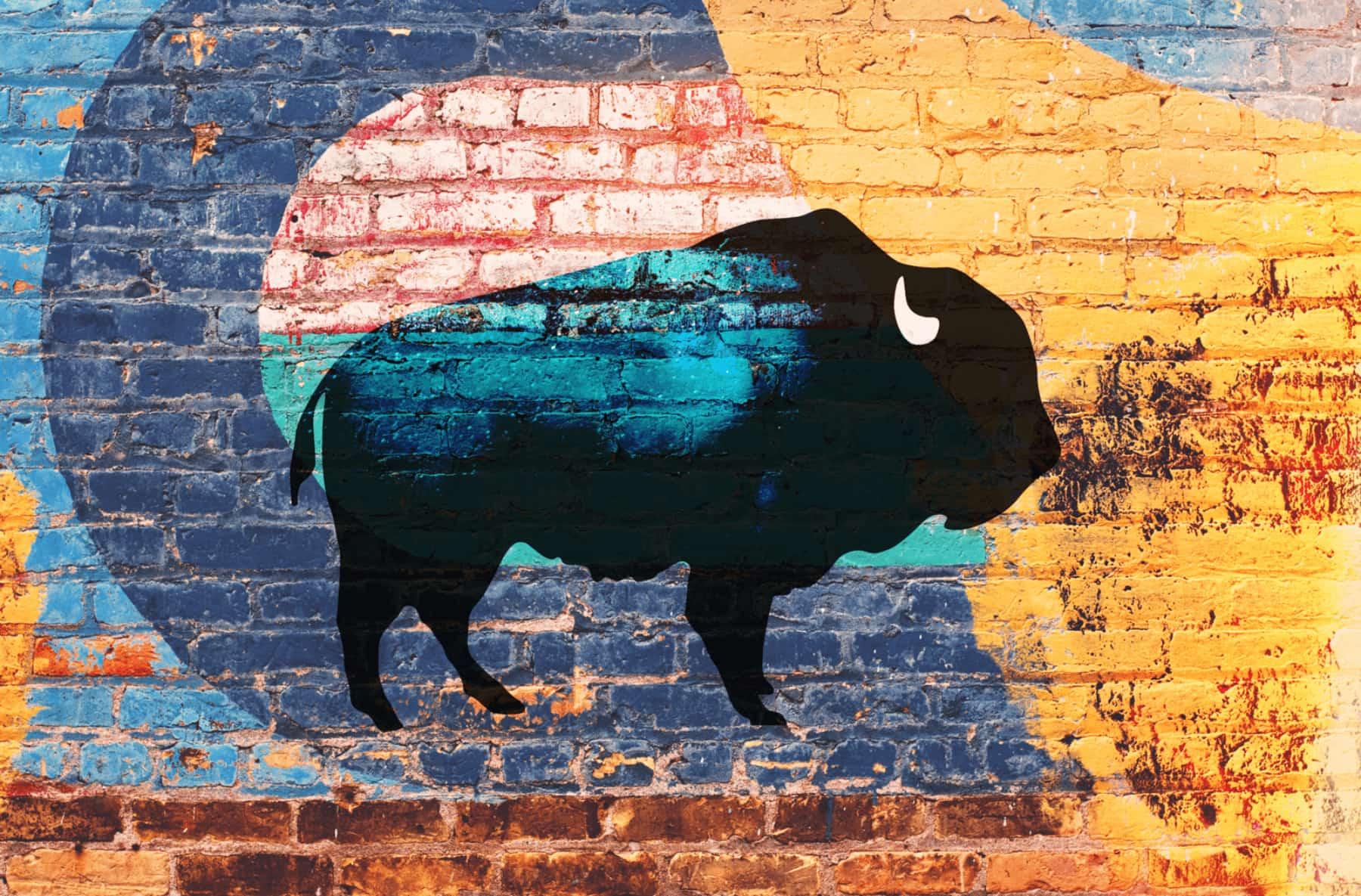 Le bison - Agence Images Créations à Nantes
