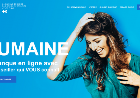 Blue Pop Banque Populaire Atlantique