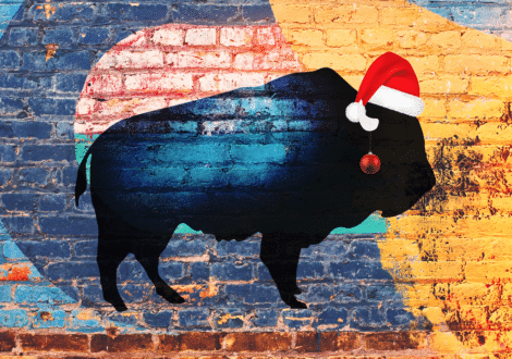 Bison Noel - ImagesCréations