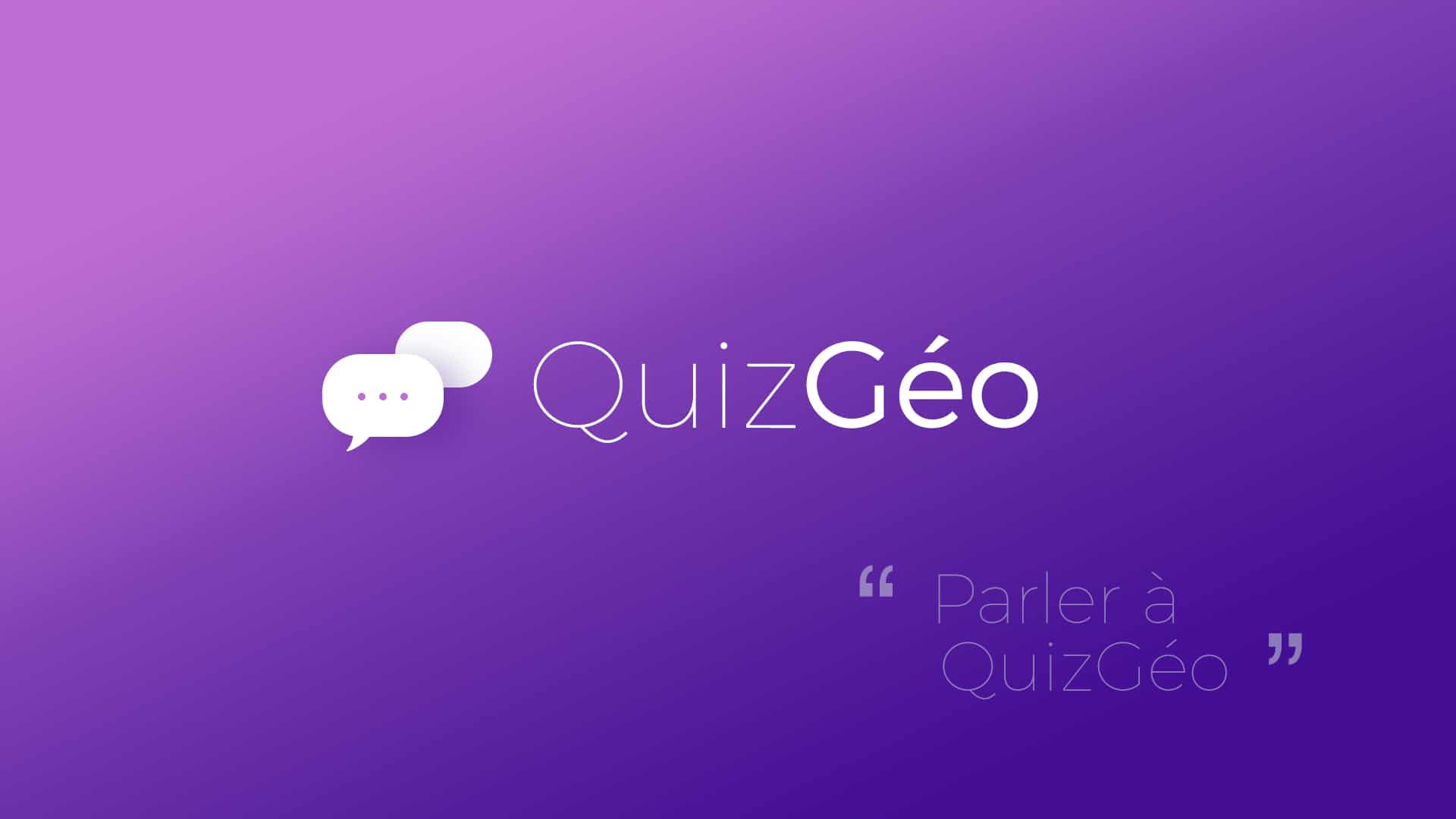 Quiz Géo : Application Google Home