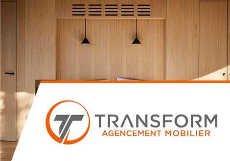 Site web Transform Agencement