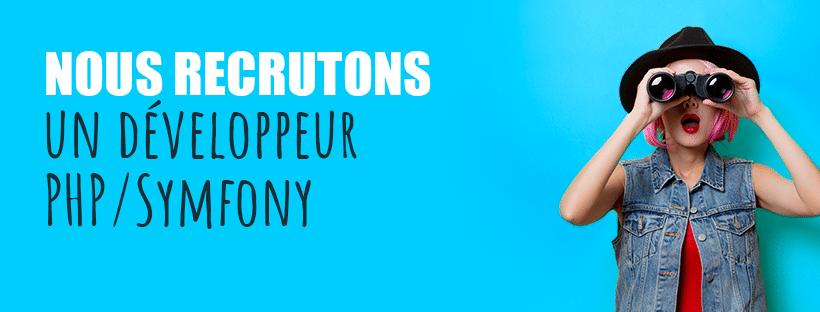 Développeur PHP- Symfony H/F - Nantes