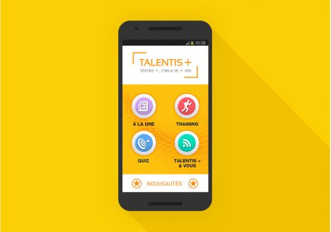 Application mobile Talentis Groupe La Poste