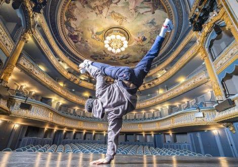 Photos de Nantes - Théâtre Graslin